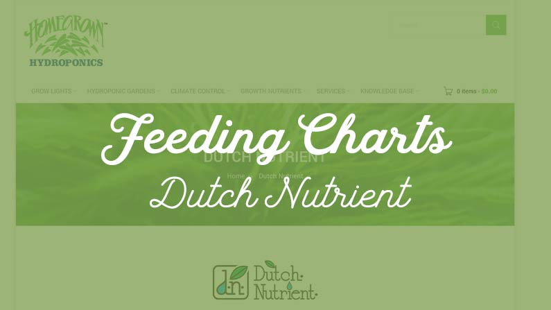 Dutch Nutrient Formula | Peterborough Hydroponic Centre